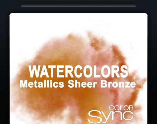 COLOR SYNC MIXED METALS SHEER BRONZE