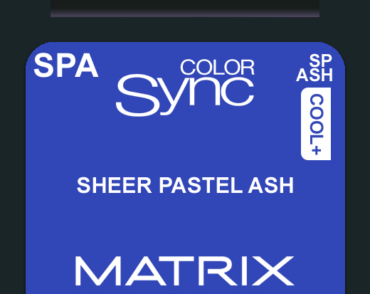 New Color Sync SPA - Pastel Ash Toner 90ml