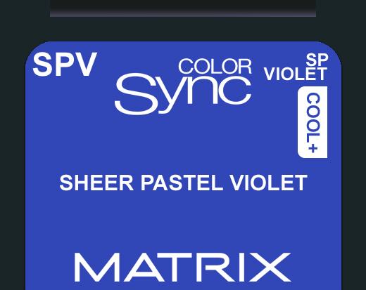 New Color Sync SPV - Pastel Violet Toner 90ml