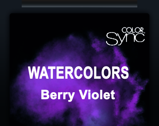 NEW COLOR SYNC WATERCOLORS BERRY VIOLET