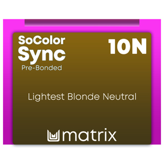 New Color Sync Pre-Bonded 10N Lightest Blonde Neutral 90ml