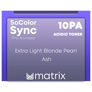 New Color Sync Pre-Bonded 10PA Extra Light Pearl Ash 90ml