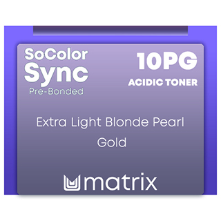 New Color Sync Pre-Bonded 10PG Extra Light Blonde Pearl Gold 90ml