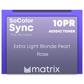 new Color Sync Pre-Bonded 10PR Extra Light Blonde Pearl Red - 90ml