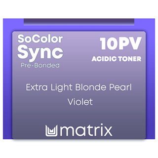 New Color Sync Pre-Bonded 10PV Exyra Light BLonde Pearl Violet 90ml