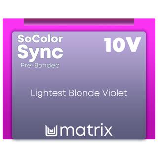New Color Sync Pre-Bonded 10V Lightest Blonde Violet 90ml