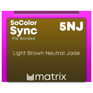 New Color Sync Pre-Bonded 5NJ LIght Brown Neutral Jade 90ml