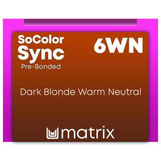 New Color Sync Pre-Bonded 6WN Dark Blonde Warm Neutral 90ml