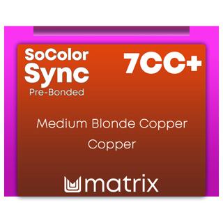 New ColorSync Pre Bonded 7CC+ Medium Blonde Coppeer Copper 90ml