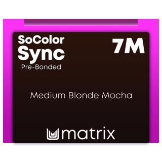 Matrix ColorSync Pre Bonded 7M - Medium Blonde Mocha 90ml