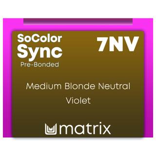New Color Sync Pre-Bonded 7NV Medium Blonde Neutral Violet 90ml