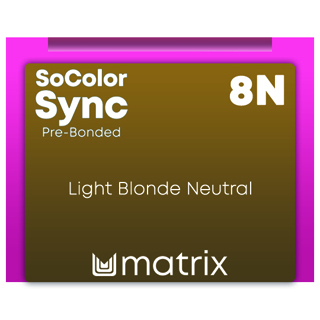 New Color Sync Pre-Bonded 8N Light Blonde Neutral 90ml