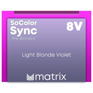 New Color Sync Pre-Bonded 8V Light Blonde Violet 90ml