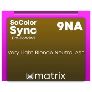 New Color Sync Pre-Bonded 9NA Very Light Blonde Neutral Ash 90ml