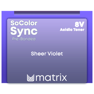 NEW SYNC PRE-BONDED ACID TONER - SHEER VIOLET 90ML