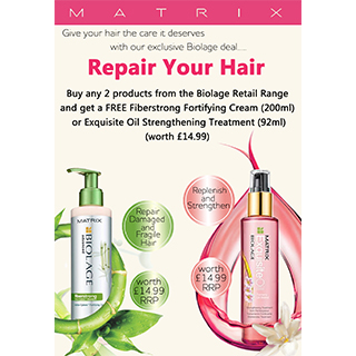 Matrix Biolage Repair Your Hair Sales Presenter