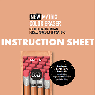 Matrix Color Eraser Instruction Sheet