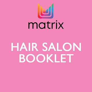 Matrix Hair Salon Booklet
