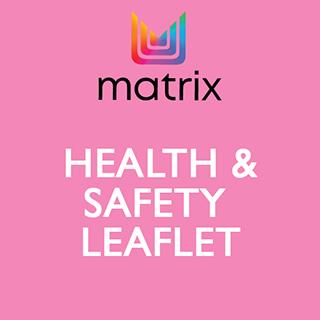 Matrix Health & Safety Leaflet