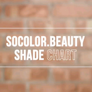 Matrix SoColor Beauty - Shade Chart Overview