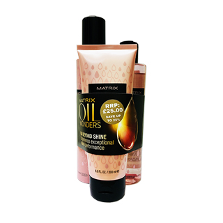 Oil Wonders Volume Rose Gift Trio Shampoo,Conditioner,Mousse