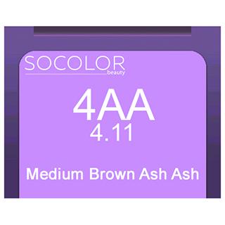 Socolor Beauty 4aa Medium Brown Ash Ash 90ml