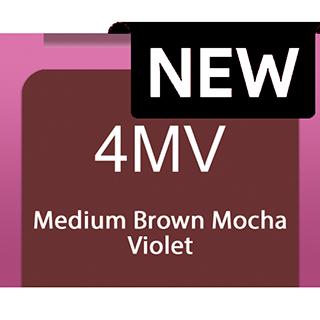 New Socolor Beauty 4mv Medium Brown Mocha Violet 90ml