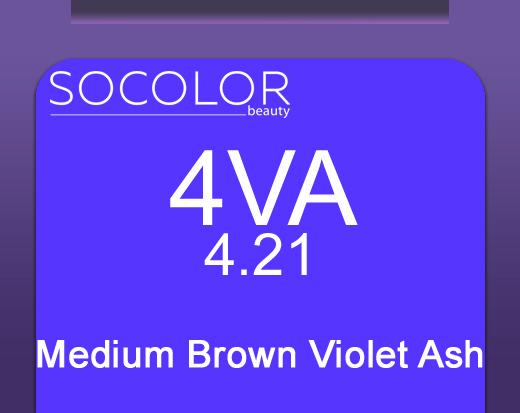 Socolor Beauty 4va Medium Brown Violet Ash 90ml