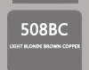 SOCOLOR BEAUTY 508BC EXTRA COVERAGE LIGHT BLONDE BROWN COPPER 90ML