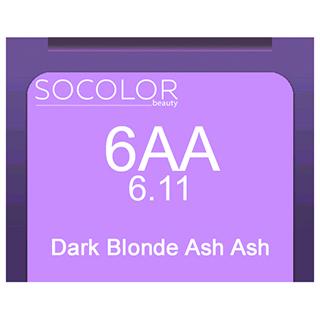 Socolor Beauty 6aa Dark Blonde Ash Ash 90ml