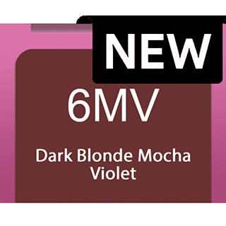 New Socolor Beauty 6MV Dark Blonde Mocha Violet 90ml