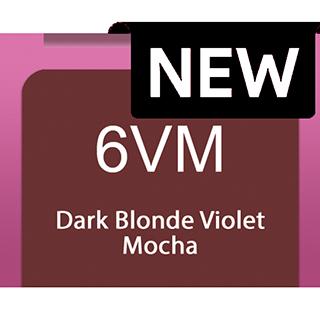 New Socolor Beauty 6VM Dark Blonde Violet Mocha 90ml