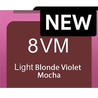 New Socolor Beauty 8VM Light Blonde Violet Mocha 90ml