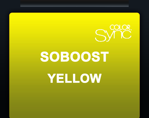 *SOBOOST YELLOW 60ML (SOCOLOR BEAUTY  & COLOR SYNC BOOSTER)