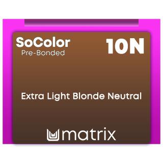 New SoColor Pre-Bonded 10N Extra Light Blonde Neutral 90ml