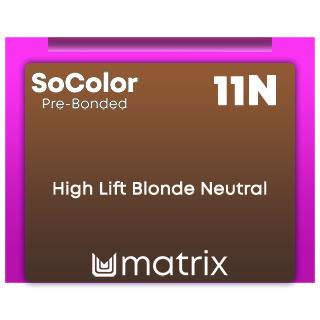 New SoColor Pre-Bonded 11N High Lift Blonde Neutral 90ml