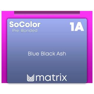 Socolor Beauty pre Bonded 1A Darkest Ash Black 90ml