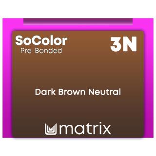 New SoColor Pre-Bonded 3N Dark Brown Neutral 90ml