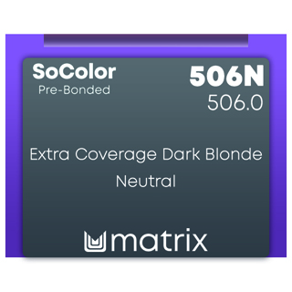 New Matrix Socolor Beauty Pre Bonded 506N 90ml