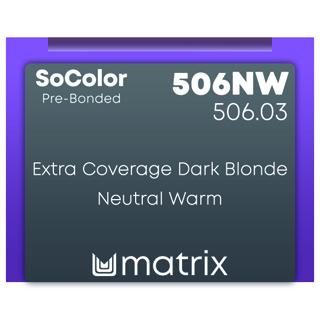 New Matrix Socolor Pre Bonded 506NW 90ml