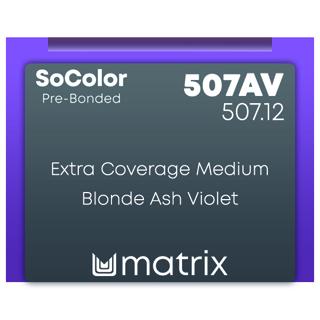 New Matrix Socolor Beauty Pre Bonded 507AV 90ml
