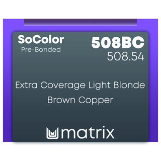 New Matrix Socolor Pre Bonded 508BC 90ml