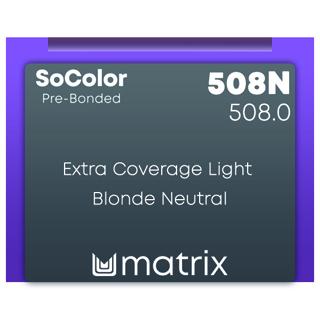 New Matrix Socolor Pre Bonded 508N 90ml