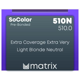 New Matrix Socolor Pre Bonded 510N 90ML