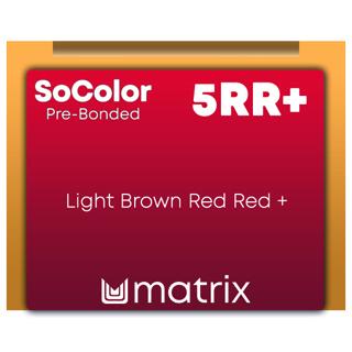 New SoColor Pre-Bonded 5RR+ 90ml