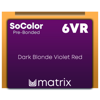 SocolorBeauty Pre Bonded 6VR Dark Blonde Violet Red 90ml