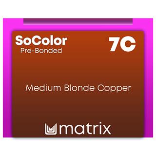 Matrix SocolorBeauty Pre Bonded 7C - Medium Blonde Copper 90ml