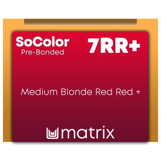 New SoColor Pre-Bonded 7RR+ 90ml
