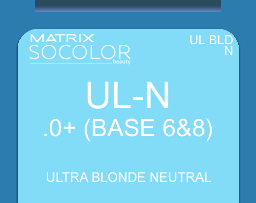 Socolor Beauty ULN Ultra Blonde Neutral 90ml