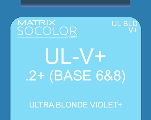 Socolor Beauty ULV+ Ultra Blonde Violet+